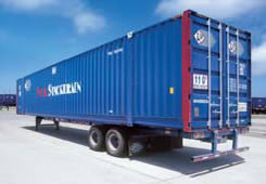 "53 FT. 110"" INTERMODAL CONTAINER, Steel Construction"